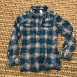 Patagonia Organic Cotton Flannel Tunic